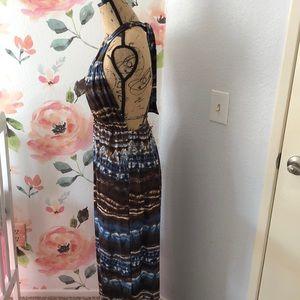 Dresses - Summer backless maxi dress